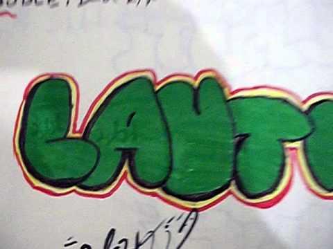 Graffiti de nombres youtube - Graffitis en papel ...