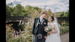 Sam & Johanna's Scottish Wedding Highlights