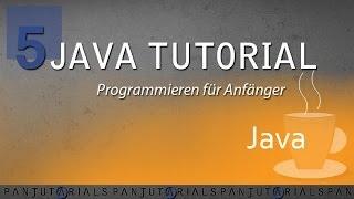 Java Tutorial Programmieren für Anfänger 5 -- Methoden/Funktionen und Parameter
