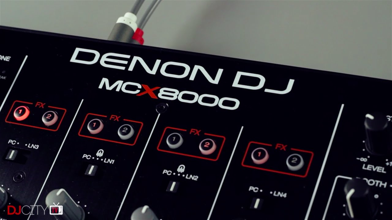 Review: Denon DJ MCX8000 Controller