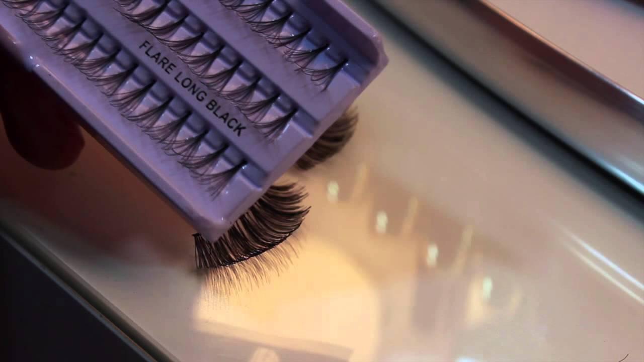 ef6f6df7f26 Secret DIY: Make your own MINK Lashes ( how i get full flirty lashes) -  YouTube