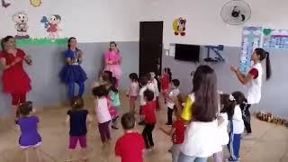 Musica Baby Shark ! As crianças do CMEI Criança Esperança!