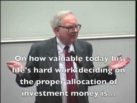 Warren Buffett - How to think about stocks