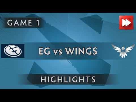 Evil Geniuses vs the wings gaming [Game 1] The Boston Major 2016 - Dota Highlights