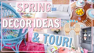 DECORATE WITH ME FOR SPRING 2019 AND HOME TOUR OF NEW SPRING DECOR! Alexandra Beuter