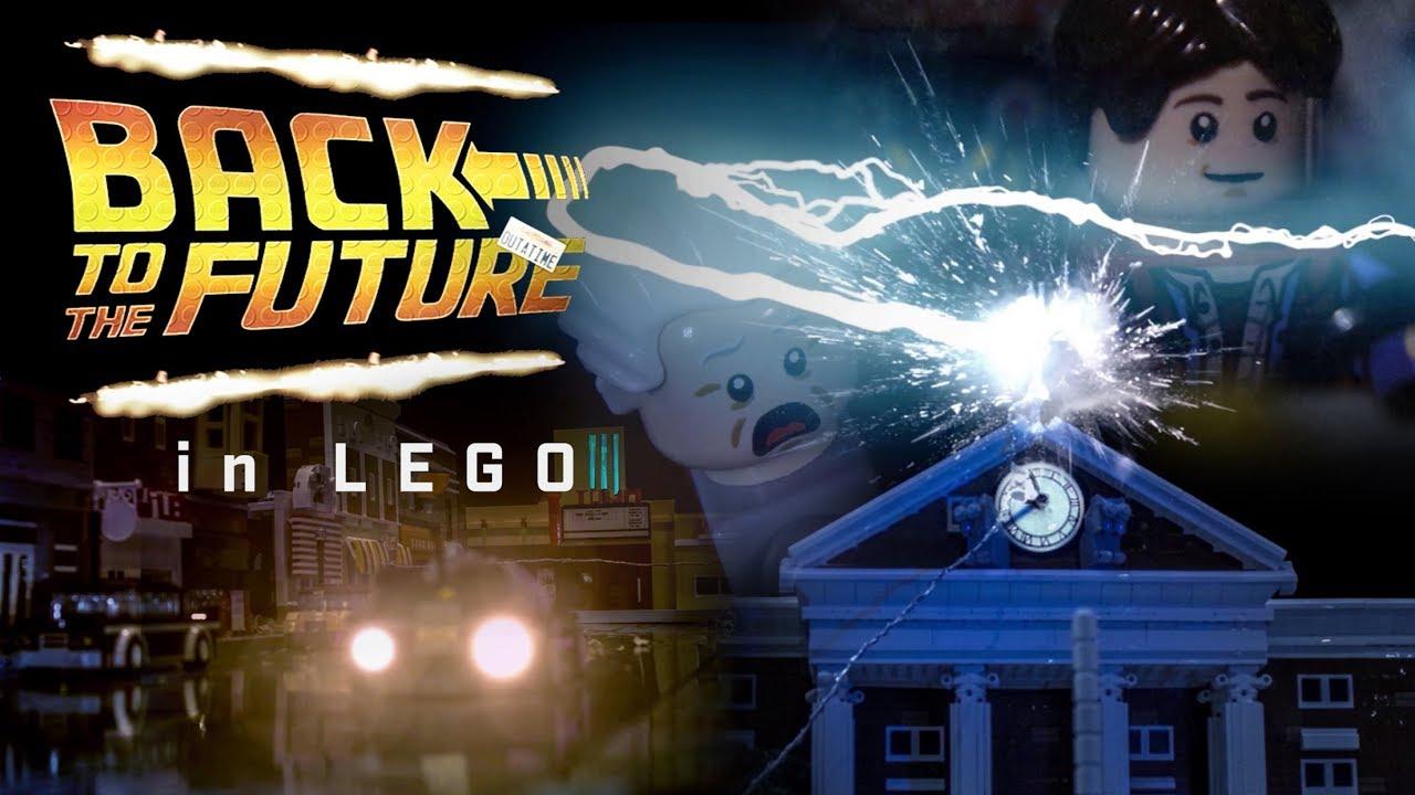 lego back to the future youtube