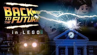 Back To The Future in LEGO