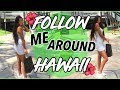 Visiting Colleges & Dinner with Friends! Hawaii Vlog!   Ronni Rae