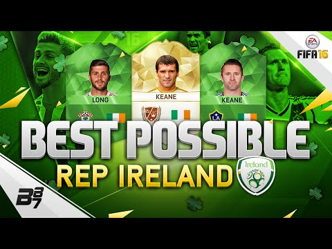 BEST POSSIBLE REPUBLIC OF IRELAND TEAM! w/ ROY KEANE! | FIFA 16 ULTIMATE TEAM