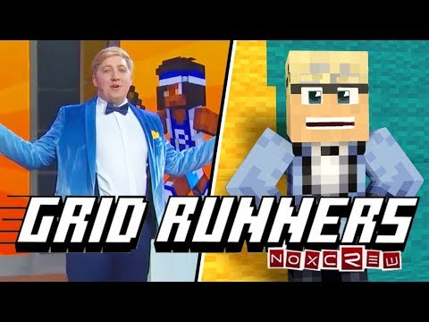 MY TURN TO PLAY! - Minecraft Grid Runners Map