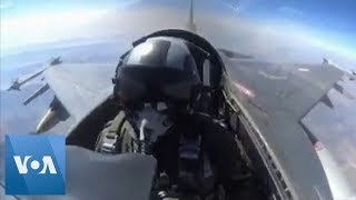 Turkey's Military Releases Video of Fighter Jets on Combat Duty