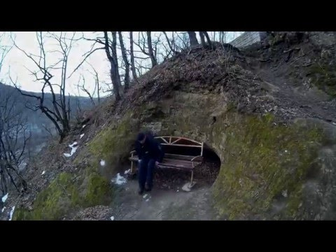 Самый Древний Дольмен с привидениями. Старый замок. Водопады. Скала Петушок. Дантово ущелье зимой