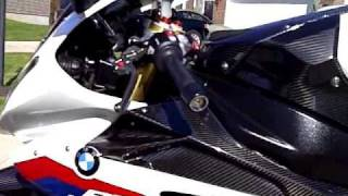 2010 BMW S1000RR custom carbon fiber w/full Akrapovic exhaust