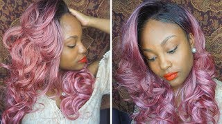 THE PERFECT ROSE GOLD WIG! ZURY BYD-FP LACE H SIRI LACE WIG | @MEEKFRO | ZURY HOLLYWOOD REVIEW