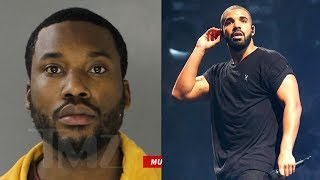 Drake raps about Meek Mill jail sentence and calls for a Truce between them.