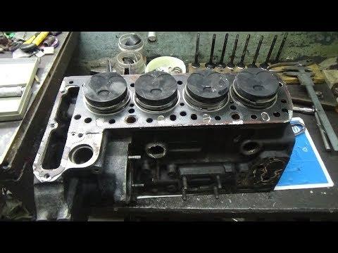 Фото к видео: Дефектовка двигателя Мерседес ОМ 615