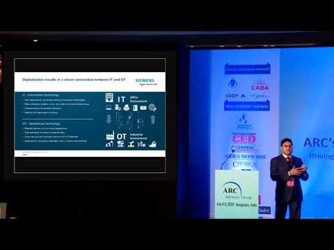 Cybersecurity and Network Transparency – Vivek Roy, Chief Manager,  Marketing, Siemens