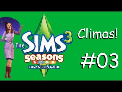 The Sims 3 Estações: (3) Climas.