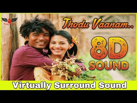 Anegan - Thodu Vaanam | 8D Audio Songs | Dhanush | Harris Jayaraj | Tamil 8D Songs