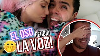 EL OSO PERDIÓ LA VOZ!!! + SORPRESA DE ANIVERSARIO FALLIDA! =(  01 May 2018