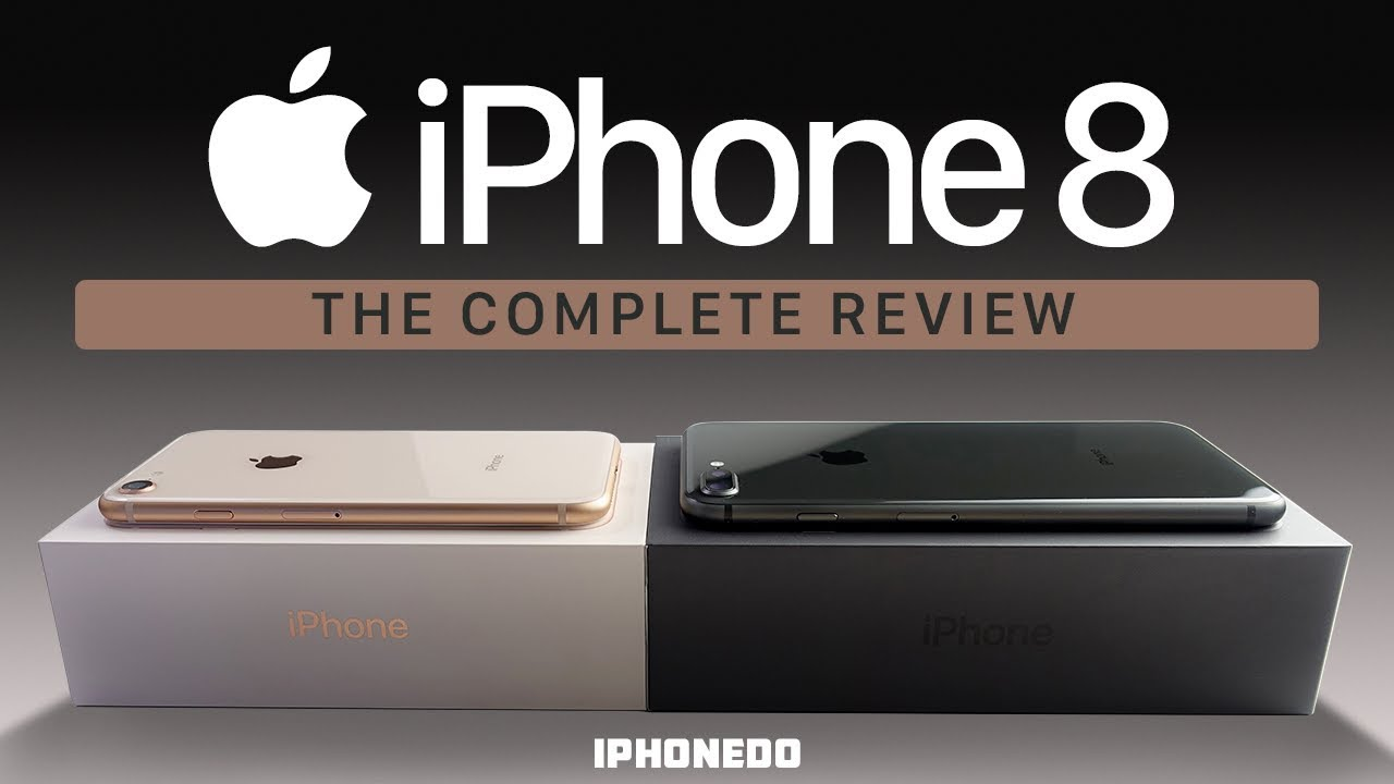 iPhone 8 — In-Depth Review [4K]