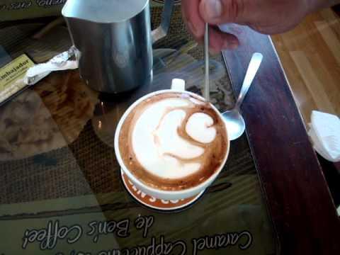 Barista de Cafe en El Salvador