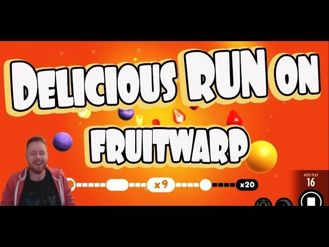 Delicious run on Fruit Warp!!