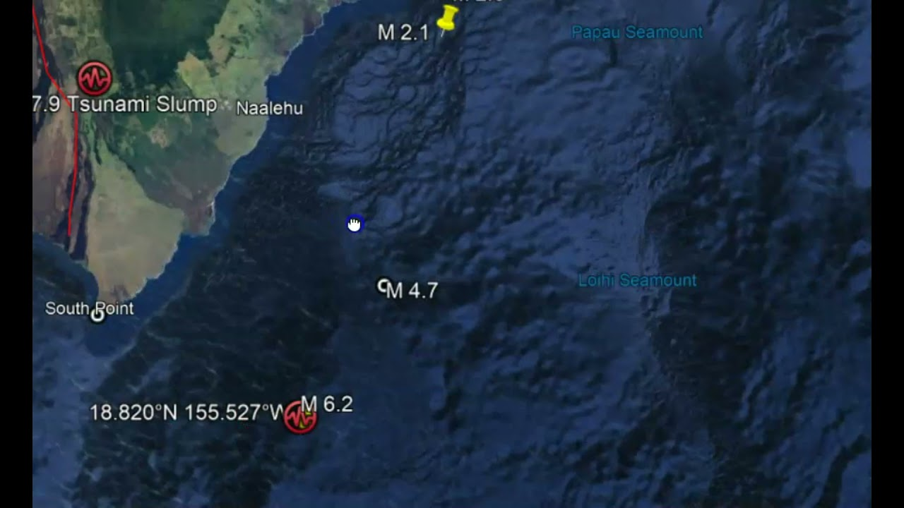6.2 earthquake shakes Hawaii