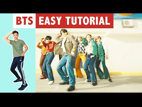 DYNAMITE TUTORIAL (EASY) | BTS DANCE