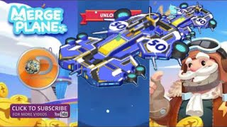 Merge Plane | Unlocking Plane No.50 Max Level