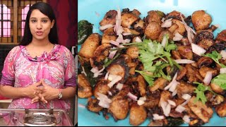 Mushroom Fry - Indian Recipes - Easy Recipes