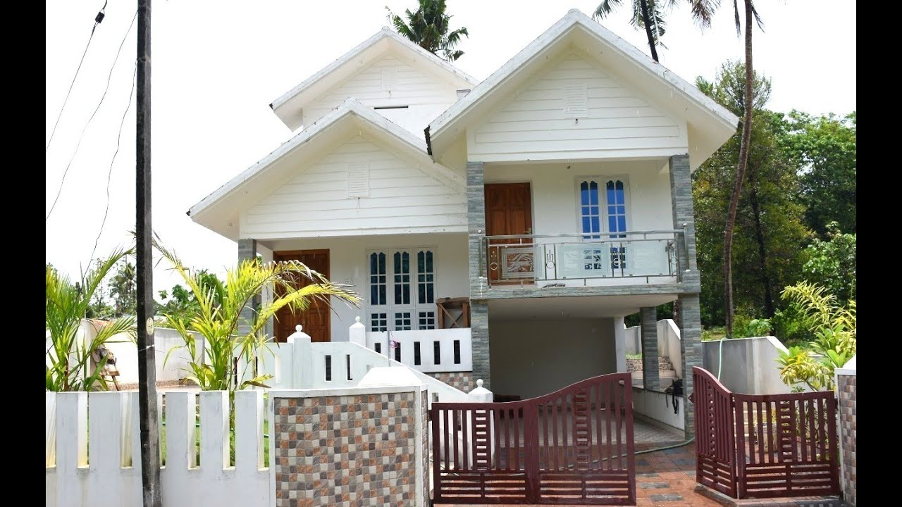 Angamaly, 6.5 cents plot and 2370 sq ft, good house - YouTube