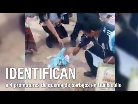 Identifican a 4 promotores de quema de barbijos en Quillacollo; iniciarán proceso penal