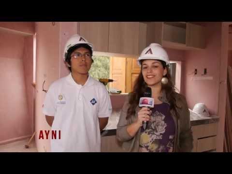 Ayni: Casas Solares Hechas Por Estudiantes Peruanos