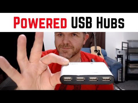 Best POWERED USB HUBS for iPad and iPhone
