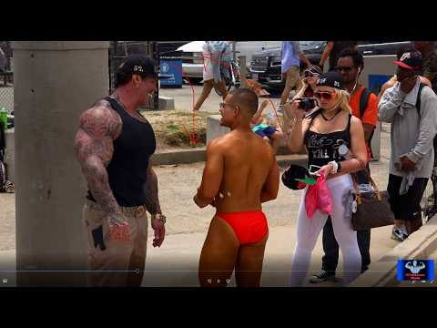 Rich Piana's Last Time at a Muscle Beach Bodybuilding Show