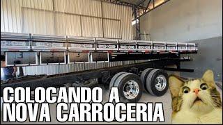 COLOCANDO A NOVA CARROCERIA DO BABY SHARK | CARROCERIAS MESSIAS