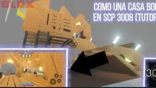 COMO CONSTRUIR UNA CASA BONITA PERO PEQUEÑA EN SCP 3008 [roblox]Flipardoycoby[tutorial]