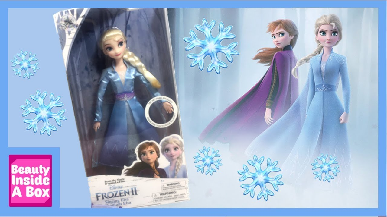 Disney Elsa Singing Doll 11 Frozen II