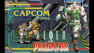Alien Vs. Predator Arcade Lev8 Maj.Shaefer no death playthrough