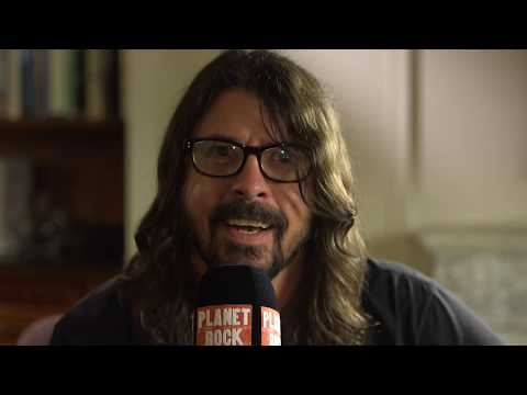 Foo Fighters Interview - Dave Grohl and Pat Smear speak to Planet Rock's Wyatt