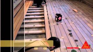 Монтаж террасной доски при помощи сверхмощного клея без применения саморезов!(, 2013-12-11T11:57:59.000Z)