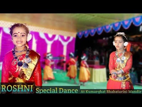 Amazing dance performance by Debolina sarkar💃 Oimui Na shunam (Kumarghat Bhabatarini Mandir)Roshni