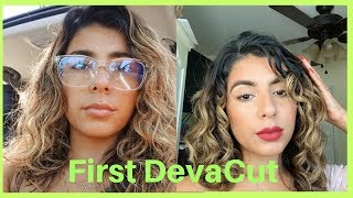 MY FIRST DevaCut FULL EXPERIENCE 2b-3a Waves/Curl