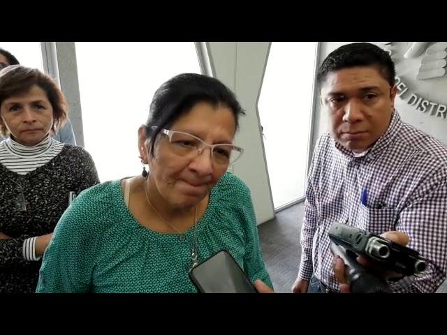 Entrevista a la Presidenta de #CDHCM, Nashieli Ramírez, después de presentación cursos en línea