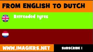 NEDERLANDS = ENGELS = Coverbanden