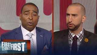 Cris and Nick on the Giants, Odell Beckham Jr. contract extension talks | NFL | FIRST THINGS FIRST