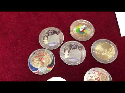 Welchen Wert Haben Farbige Euro Münzen Youtube