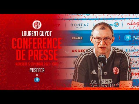 J7 - Laurent Guyot (conférence de presse avant match)