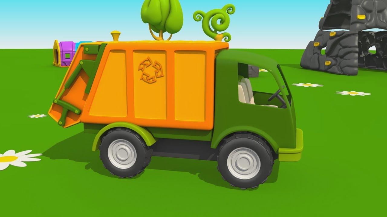 Cartoni animati per bambini leo il camion curioso come